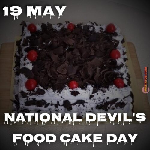National Devil's Food Cake Day 2020 Photos 19th May