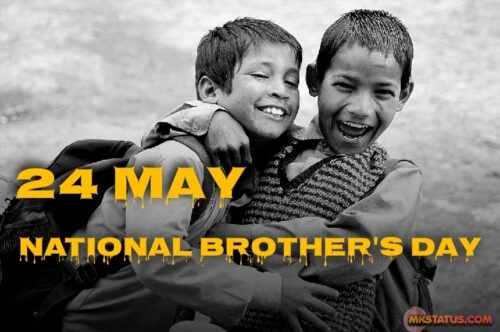 National Brother Day Images for FB status