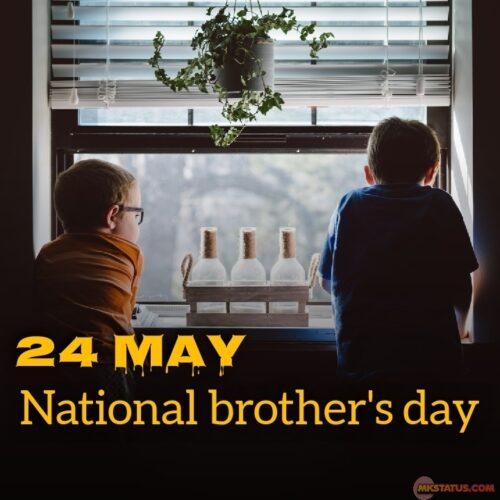 Download National brother's day 2020 wishes images