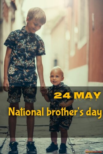 National brother's day 2020 wishes images