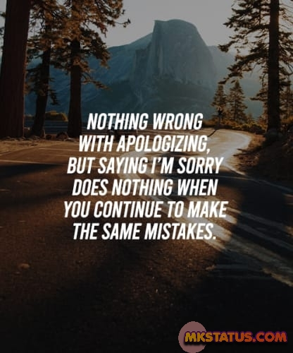 Download Sorry Quotes images for FB status