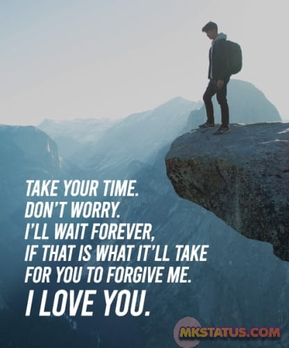 Sorry Quotes and Messages images for status