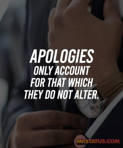 Apology quotes and messages images
