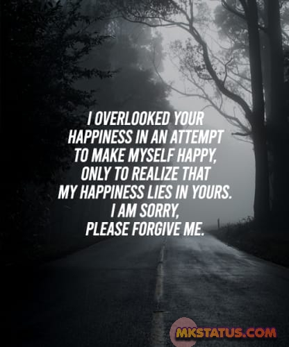 Apology quotes images for boys and Girls status