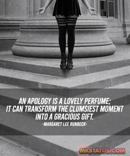 Best new Apology quotes images for status