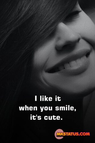 Smile Quotes for Girls Images in English