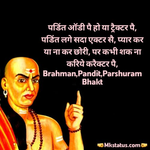 brahman attitude status in hindi