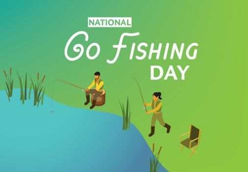 18 June National Go Fishing Day 2020 images