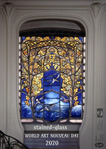 World Art Nouveau Day 2020 Stained Glass