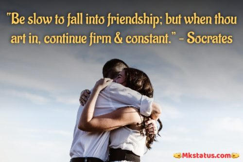 True Friendship Quotes images for status
