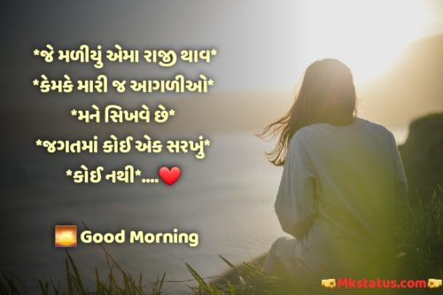 Best Gujarati Quotes about Good Morning