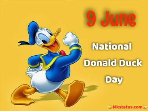 National Donald Duck Day wishes images