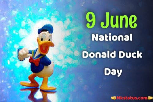 National Donald Duck Day 2020 greeting photos
