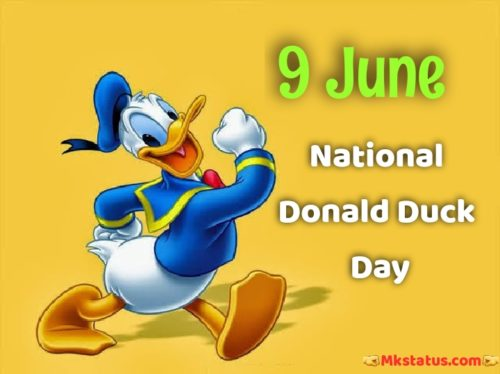National Donald Duck Day 2020 wishes images