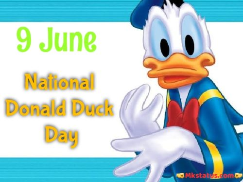Donald Duck Day wishes images