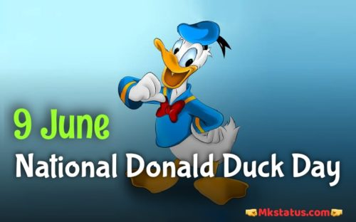 9 June Donald Duck Day wishes images for Instagram