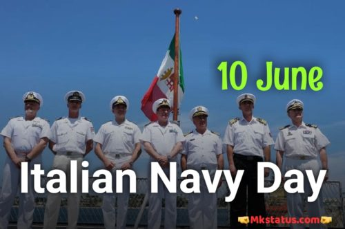 Navy Day in Italy greeting images - 10 June