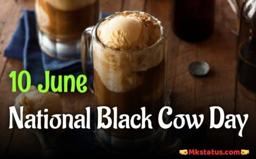 10 June National black cow day wishes images