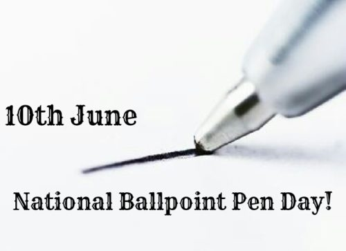National Ballpoint Pen Day 2020