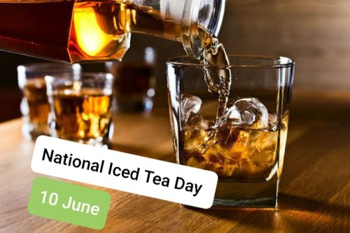 Happy National Iced Tea Day 2020 greeting pictures