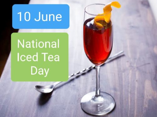 Happy National Iced Tea Day wishes images - 10 June