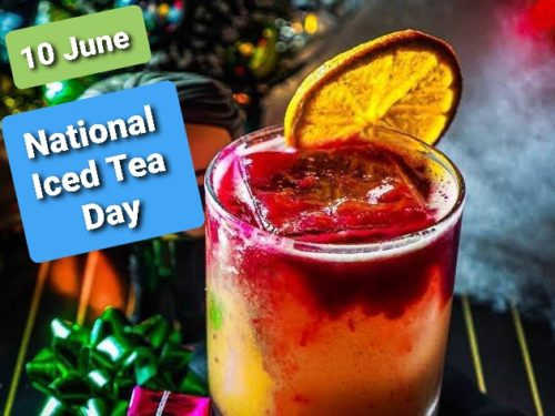 Happy National Iced Tea Day 2020 wishes images