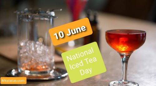 Iced Tea Day 2020 wishes images