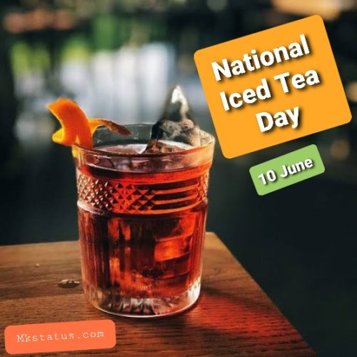 Best new National Iced Tea Day 2020 wishes images