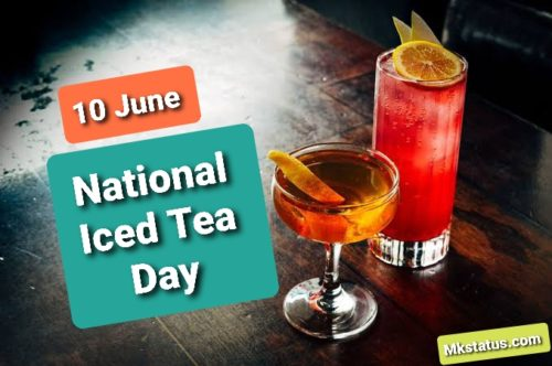 10 June Happy National Iced Tea Day wishes images