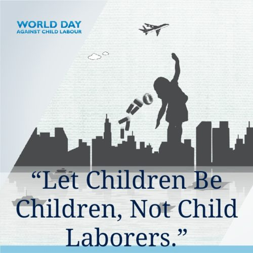 Child Labour Day 2020 Slogan