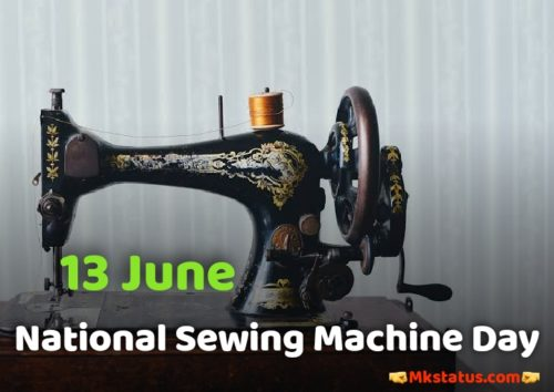 National Sewing Machine Day images