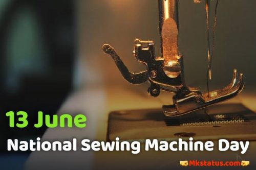 Download National Sewing Machine Day images 13 June