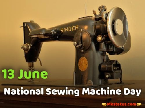 Download National Sewing Machine Day images
