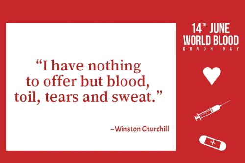 World Blood Donor Day 2020