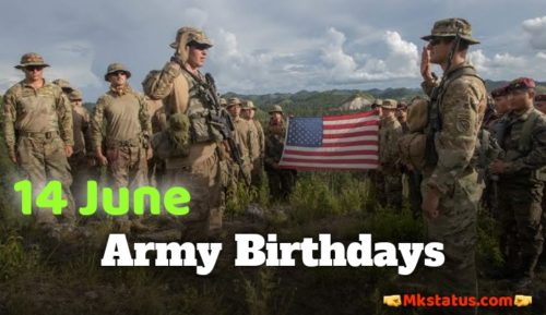 U.S. Army Birthday 2020 images