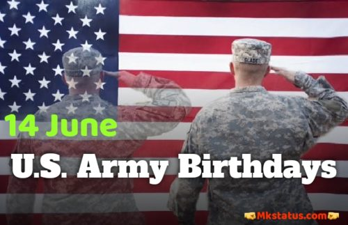Download U.S. Army Birthday 2020 wishes images