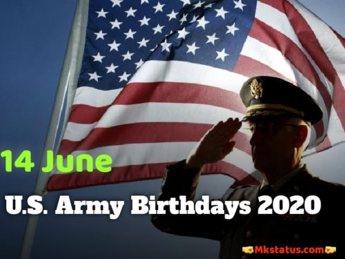 U.S. Army Birthday 2020 greeting images for FB status and DP
