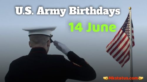 U.S. Army Birthday 14 June Images