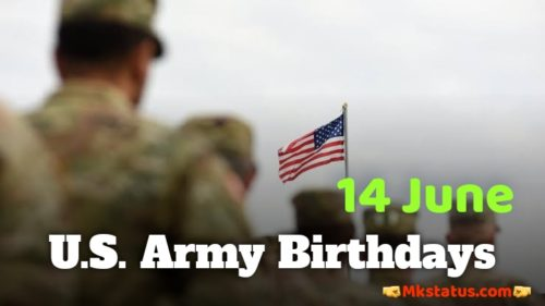 U.S. Army Birthday 2020 greeting images