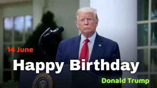 Happy Birthday Donald Trump images for status and DP