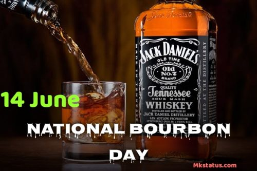 National Bourbon Day wishes images for status