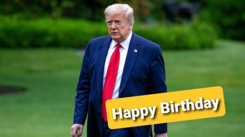 Happy Birthday Mr. President Donald Trump wishes Images