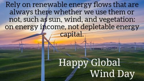 Global Wind Day 2020 Messages