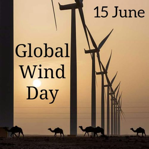 Global Wind Day 2020 Images