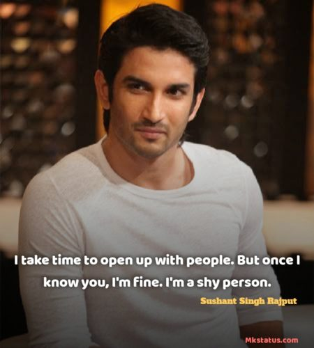 Sushant Singh Rajput Quotes images for whatsapp status