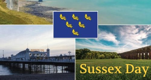 Happy Sussex Day 2020 Greeting Pictures