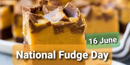 National Fudge Day 2020 greeting photos
