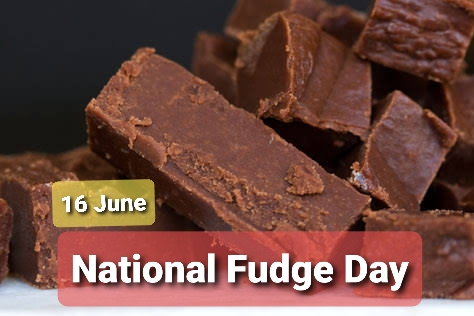 16 June National Fudge Day 2020 images