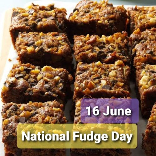 National Fudge Day 2020 images