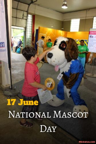 17 June National Mascot Day 2020 wishes photos 17 June